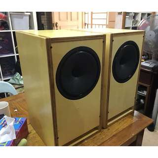 Diy 8 inch full range speakers