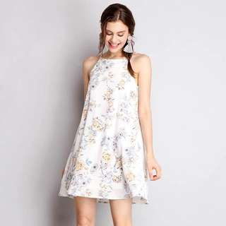 Lilypirates floral trapeze dress