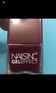 Brand New Naisinc Gel Effect Kensington High Street Nail Polish