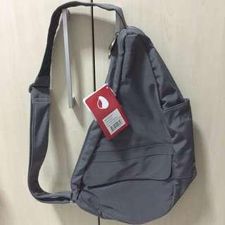 Classic Steel Grey Sling Bag