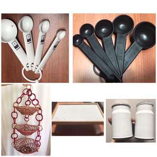 Take all! Kitchen items
