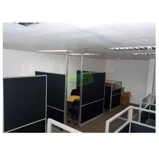 OFFICE PARTITIONS, WORKSTATIONS, OFFICE CHAIRS--KHOMI
