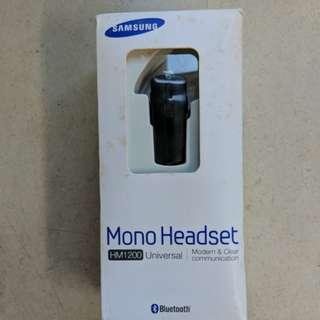 Samsung Mono Bluetooth Headset HM1200