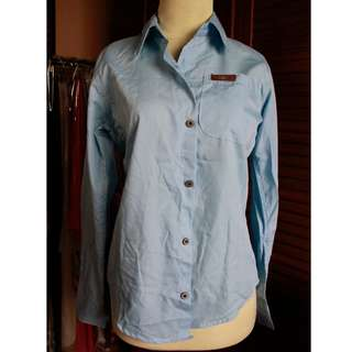 Kemeja Light Blue NEW