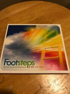 Chinese Christian Songs CD 盛晓玫 Amy Sand Footsteps 脚步👣