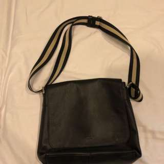 Navy blue Coach body bag (barely used)