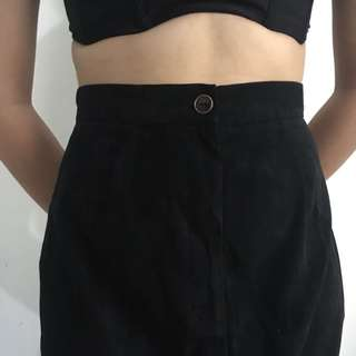 Vintage high waisted maxi skirt