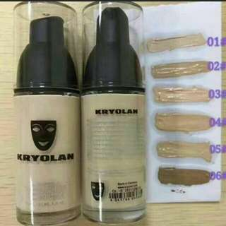 Foundation Kryolan - Instock