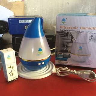 Ultrasonic humidifier - blue