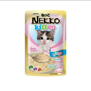 Nekko Cat Pouch Food