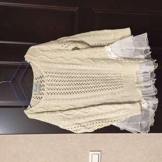 日專櫃snidel 針織衫
