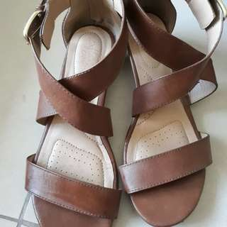 Brown Sandals size 8 fits 9