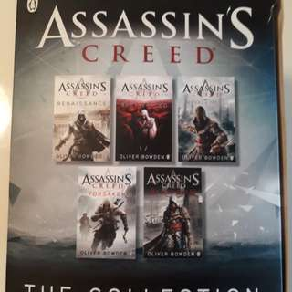 Assassins Creed - collection of 5 books
