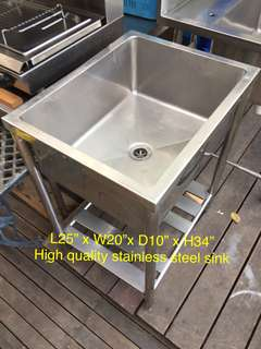 High quality Stainless Steel Commercial Sink