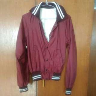 Maroon Varsity Jacket