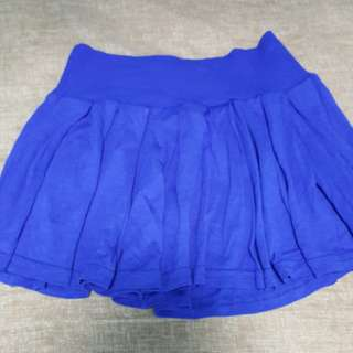 Blue Mini Skirt for Kids