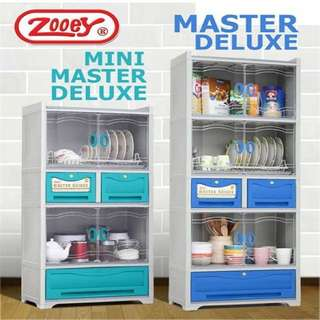 Master Deluxe Dish Cabinet and Drawer