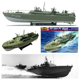 Military combat vehicle / boat: PT-109 boat