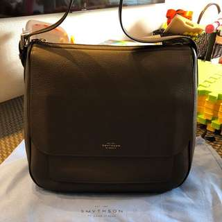 Smythson Burlington hobo bag