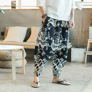 Harem Pants M-3XL (130-220 pounds)