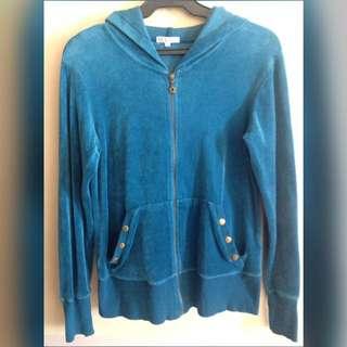 BlueGreen Suede Jacket