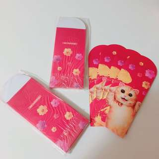 Mannings 萬寧 貓 利是封 cat red packets