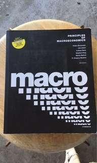 Principles of Macroeconomics ECF1200