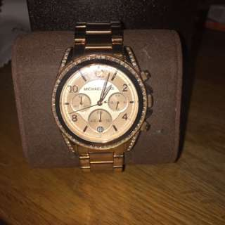 Micheal Kors Set Watch & Bangle
