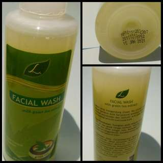 Green Tea facial wash