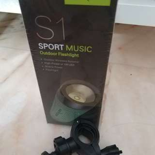 Zealot S1 Sport Music Flashlight with Bluetooth speaker