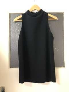 SABA Black high neck style top