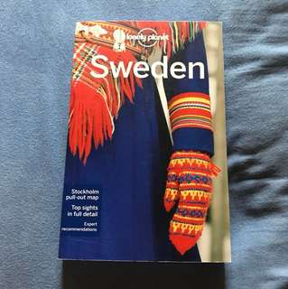 Lonely planet Sweden guidebook 2015