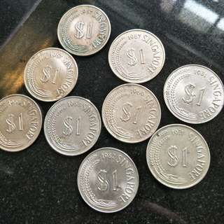 Old Singapore Coins