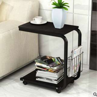 Movable Side Table (Black)