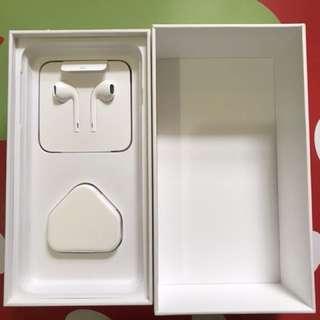 iPhone 耳機連三腳插頭加 6plus 吉盒