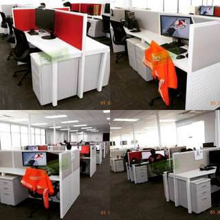 Call center cubicles working tables--KHOMI