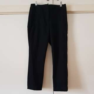 Cue Black Tailored Pants Size 6/XS