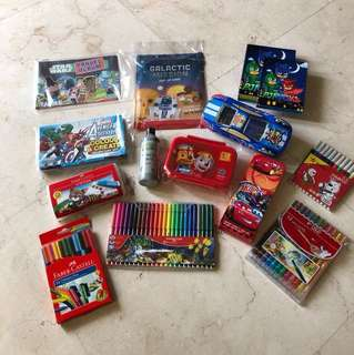 13-pcs Mixed Match Stationaries