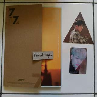[READY STOCK] GOT7 7 FOR 7 TAIWANESE EDITION