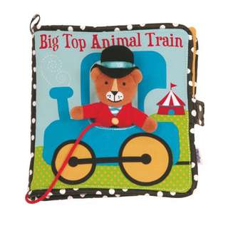 Big Top Animal Train Soft Book (布書)
