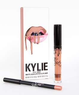 "AUTHENTIC* Kylie Cosmetics Matte Liquid lip kit ""Exposed"""