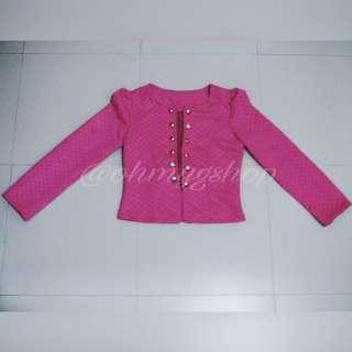 Cute Pink Blazer/Cardigan