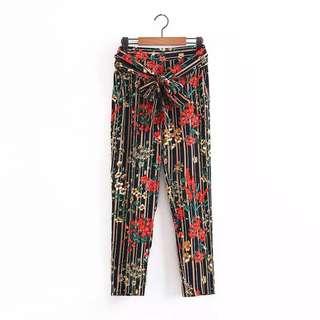 PREORDER Floral Pants