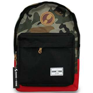 Backpack Classy Army Red