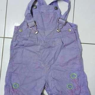 Baby Denim Romper Overall