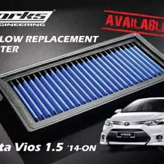 Air Filter Works Engineering Vios 2014 ++