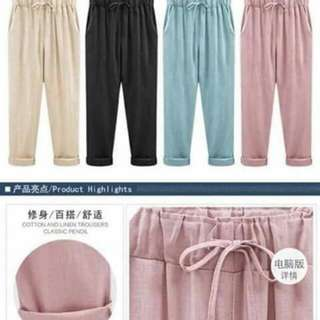 Candy pants cotton