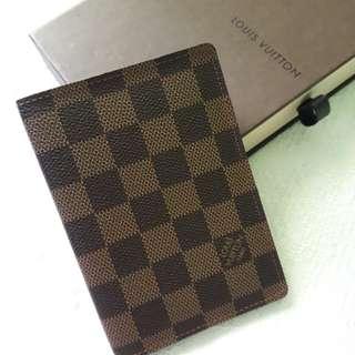 Louis Vuitton Damier Ebene passport holder