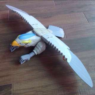 Vintage 80's Silverhawks Tally Hawk Huge Action bird figure by Kenner 1987