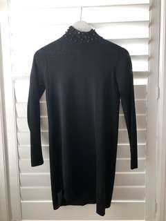 Zara turtle neck tight dress